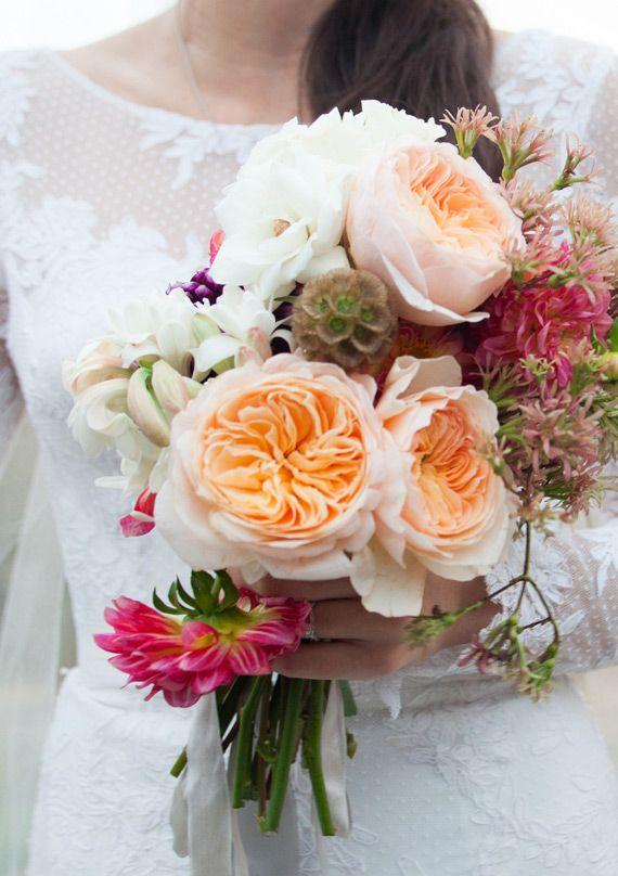 Best 25 Garden Rose Bouquet Ideas Only On Pinterest