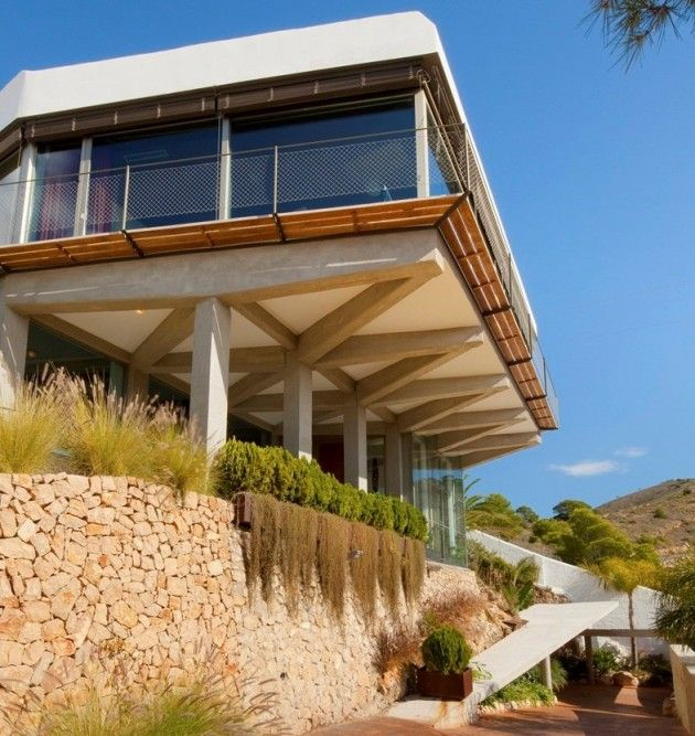 Beautiful Abis Arquitectura Designed A Contemporary Renovation For This House In  Benidorm, Alicante, Spain. Awesome Design