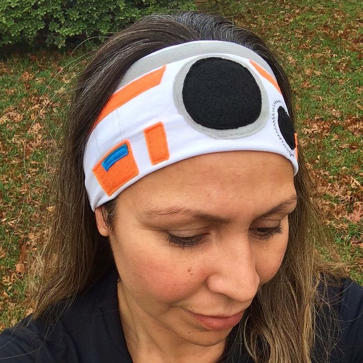 A personal favorite from my Etsy shop https://www.etsy.com/listing/255475523/bb-8-running-headband-3-inches-wide