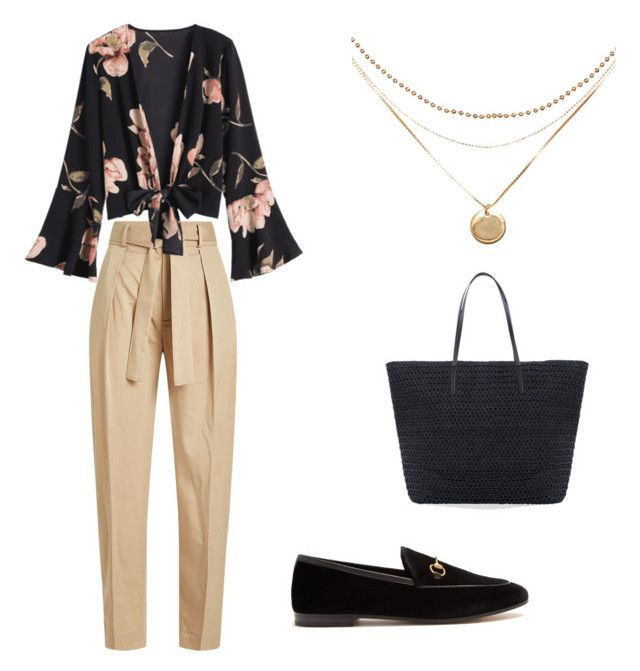 """""""Untitled #18"""" by alisha-marley on Polyvore featuring Polo Ralph Lauren, Gucci and Chico's"""