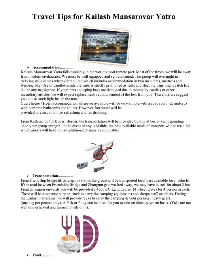 Travel Tips Kailash Mansarovar Yatra by Apna Bharat Tours & Travels
