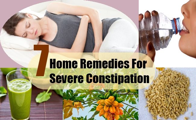 Top 7 Home Remedies For Constipation