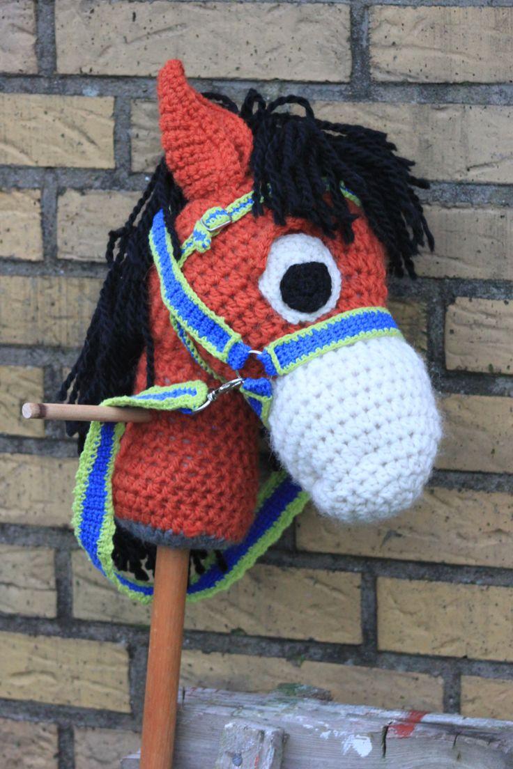 Hæklet Kæphest  #kaephest #haekling #hobbyhorse #crochet