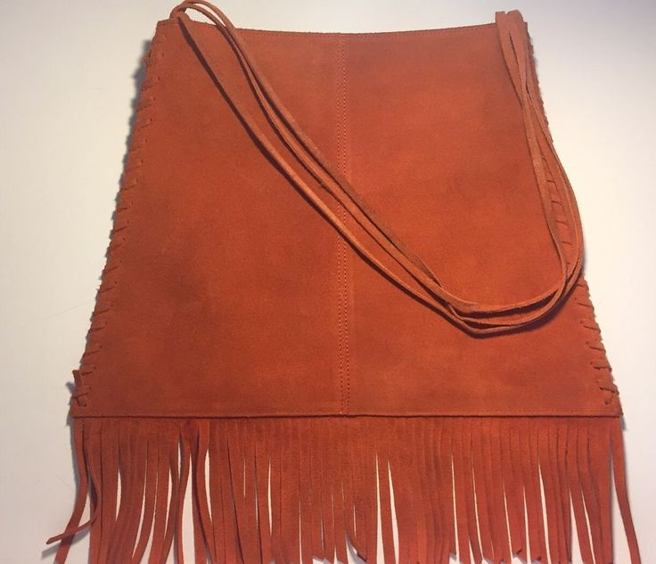 Gap Brand Suede Fringe Handbag Purse Bag | Clothing, Shoes & Accessories, Women's Handbags & Bags, Handbags & Purses | eBay!