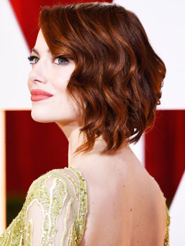 Эмма Стоун Тонкие волосы не поддаются укладке и не держат объем? Возможно, дело в неправильной стрижке.