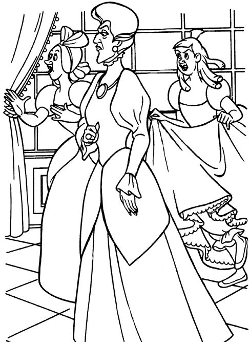 disney villains coloring book pages - photo#23