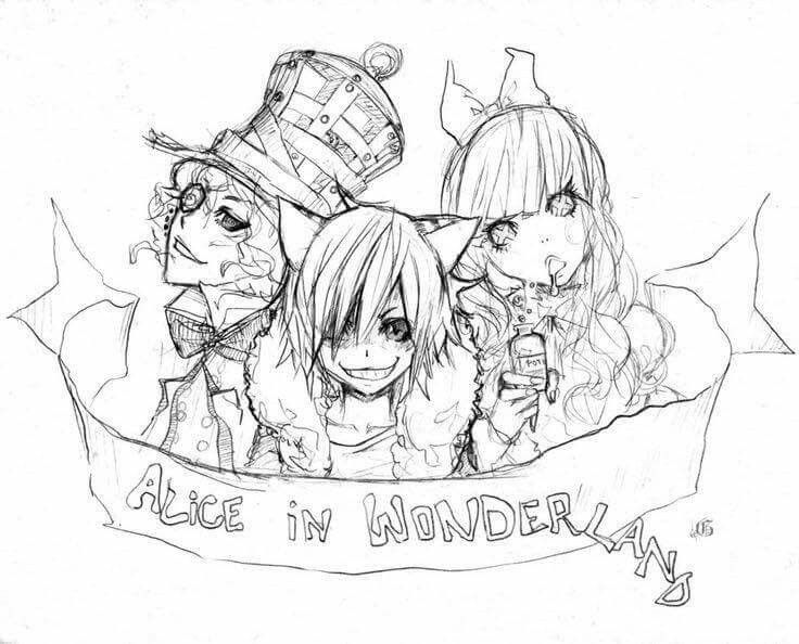 17 Best Images About Alice In Wonderland Tattoo In The