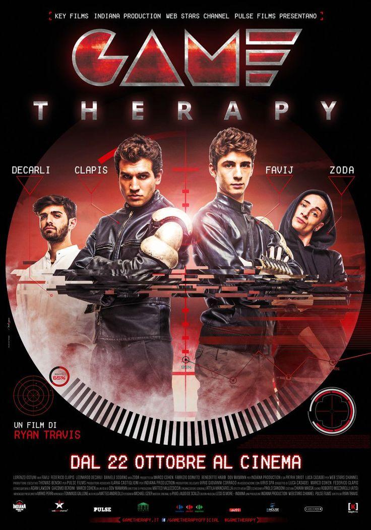 #GameTherapy, il film con FaviJ, Federico Clapis, Leonardo Decarli e Zoda. Dal 22 ottobre al cinema.