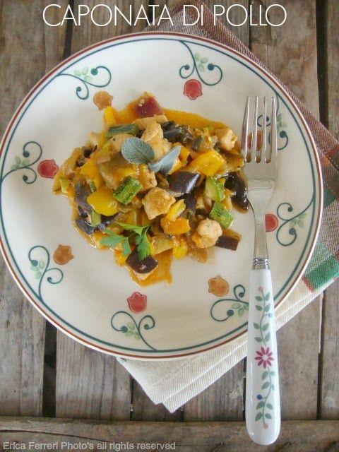 Ogni riccio un pasticcio - Blog di cucina: Caponata di pollo