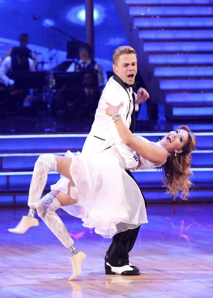 Derek Hough Talks Amy Purdy's Injuries, Won't Downgrade DWTS Choreography