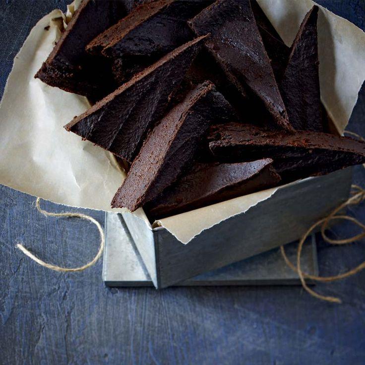Brownies végétaliens aux patates douces
