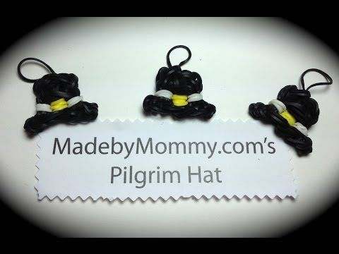 How to make a Pilgrim Hat on the Rainbow Loom!