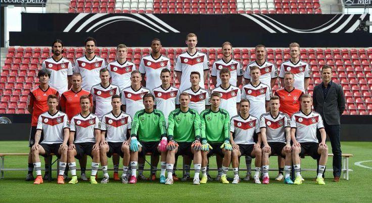 Deutsche Nationalmannschaft, DFB Team, German National Football team 2014