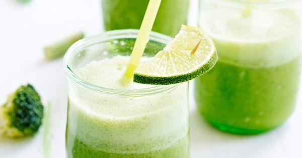 Broccoli-ananas smoothie