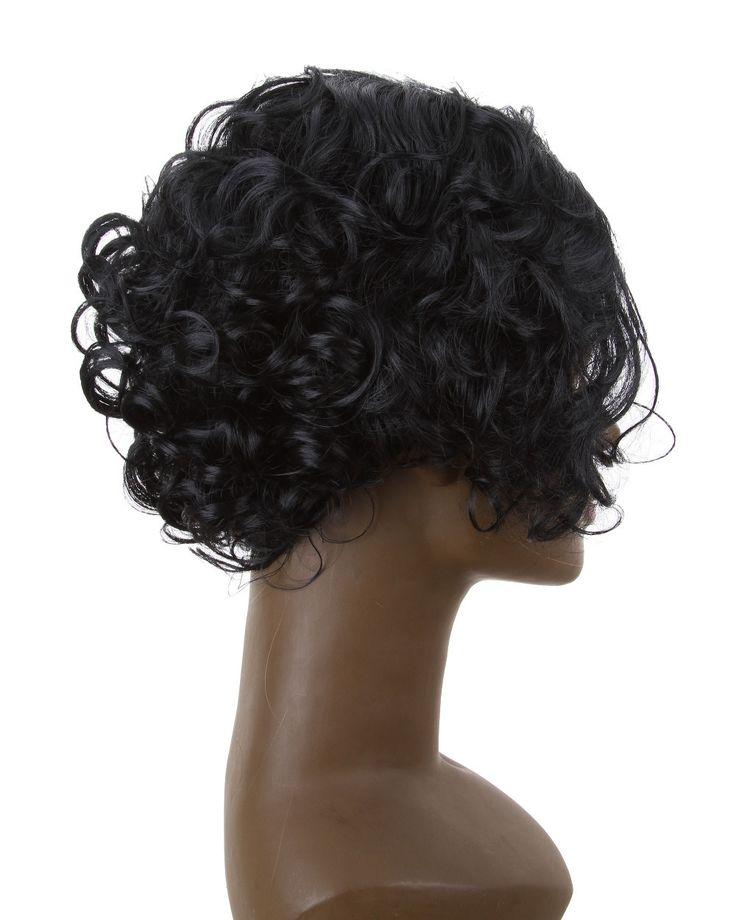 Ohyes игра престолов джон сноу парик короткие кудрявые черные волосы косплей
