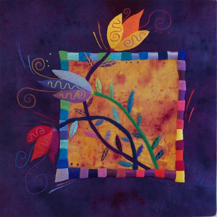 Maureen Ballagh - fibre art