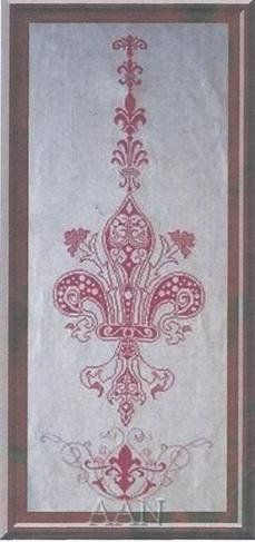 Fleur de Lys is the title of this cross stitch pattern fromAlessandra Adelaide Needleworks.
