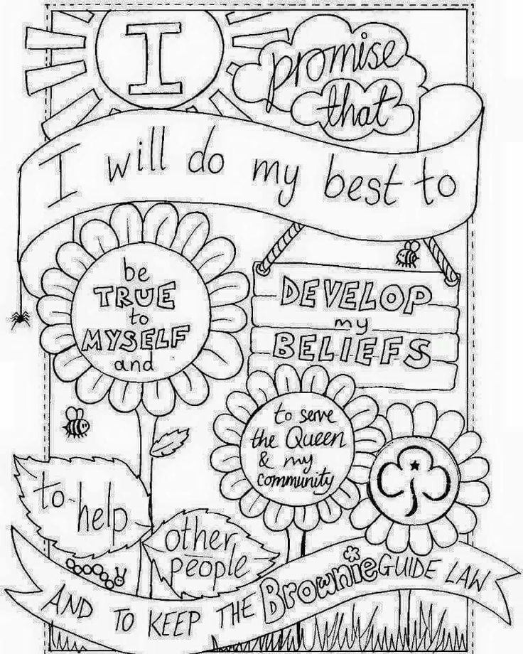 57 best Girlguiding Promise Activities images on Pinterest