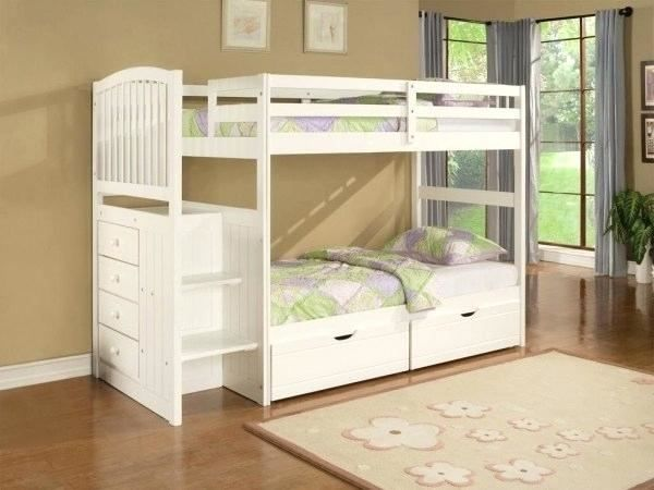 Double Deck Bed Design For Small Room With Images Kids Bunk