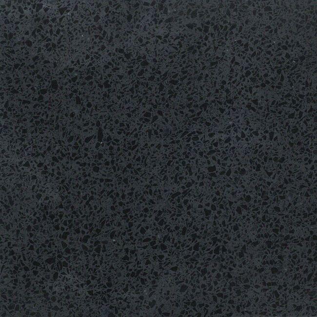 "Colour: Aspen Black Pearl Finish: Polished 60cm x 60cm x 1.2cm (24"" x 24"" x 1/2"") Small grained black. #Profiletile"