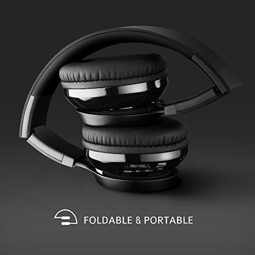 Ecouteur sans fil, Mpow Casques et Ecouteurs Casque Sans Fil Pliable avec Micro suppression du bruit, compatible avec iPhone 6S, SE,…