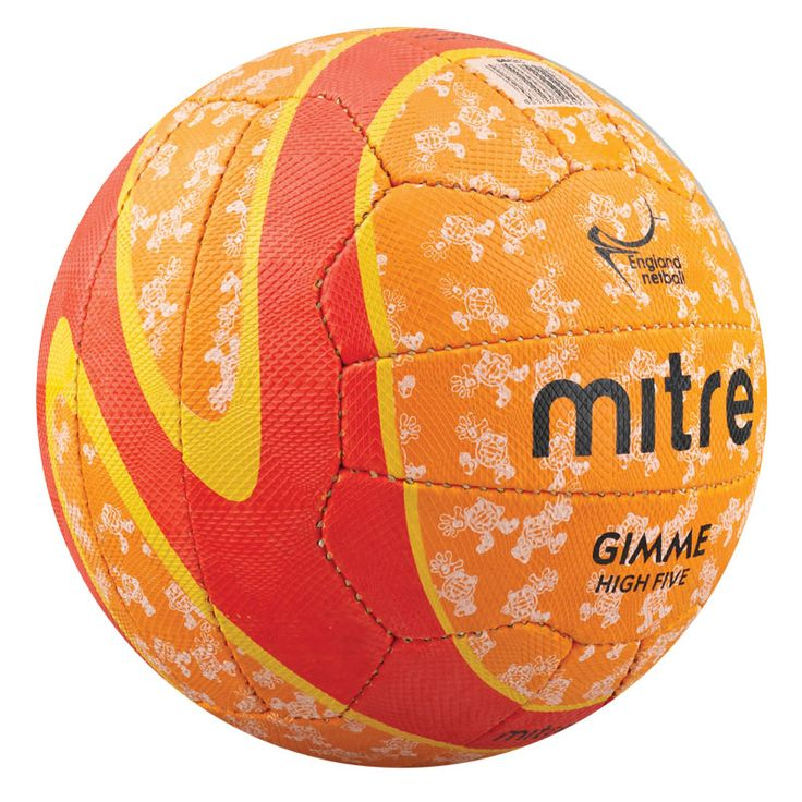 MITRE GIMME HIGH FIVE NETBALL - endorsed by England Netball and designed for High 5 Netball.
