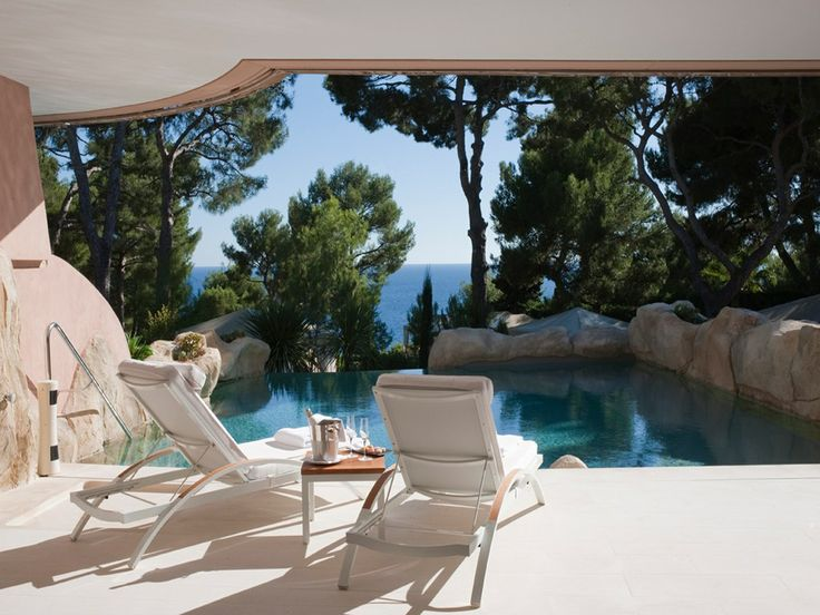 The Grand Hotel-Cap Ferrat: Du Capferratw, Favorite Places, Head Of Garlic, Living Spaces, Jeans Cap, Swim Pools, Grand Hotels Du Cap Ferrat, France Hotels, Amazing Places