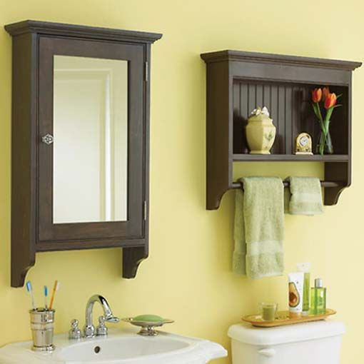 Matching Bathroom Cabinets Woodworking Plan From WOOD Magazine