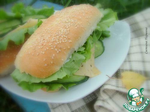 Булочки для хот-догов - кулинарный рецепт
