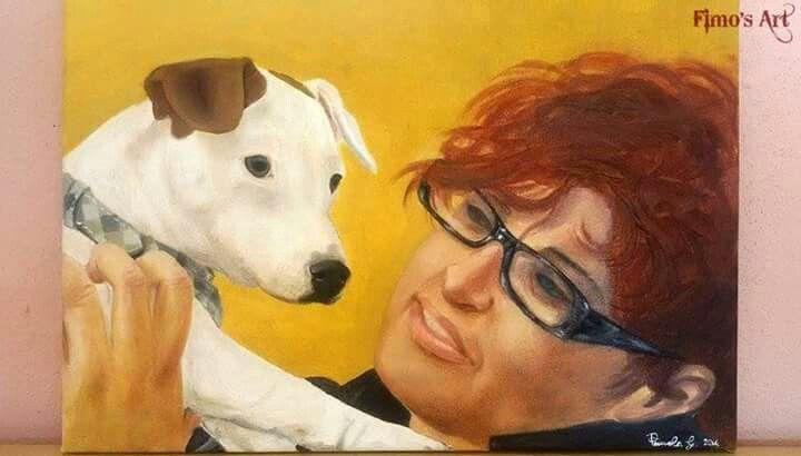 Olio su tela by Fimo's Art  https://www.facebook.com/profile.php?id=1422761874603357&ref=ts&fref=ts
