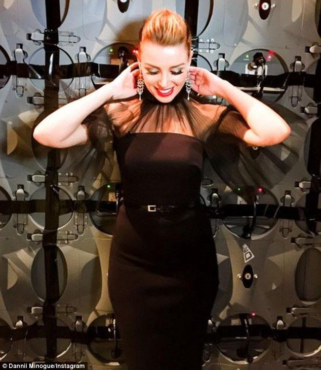 Flawless: Giving women half her age a run for their money, Dannii Minogue dazzled as she m...