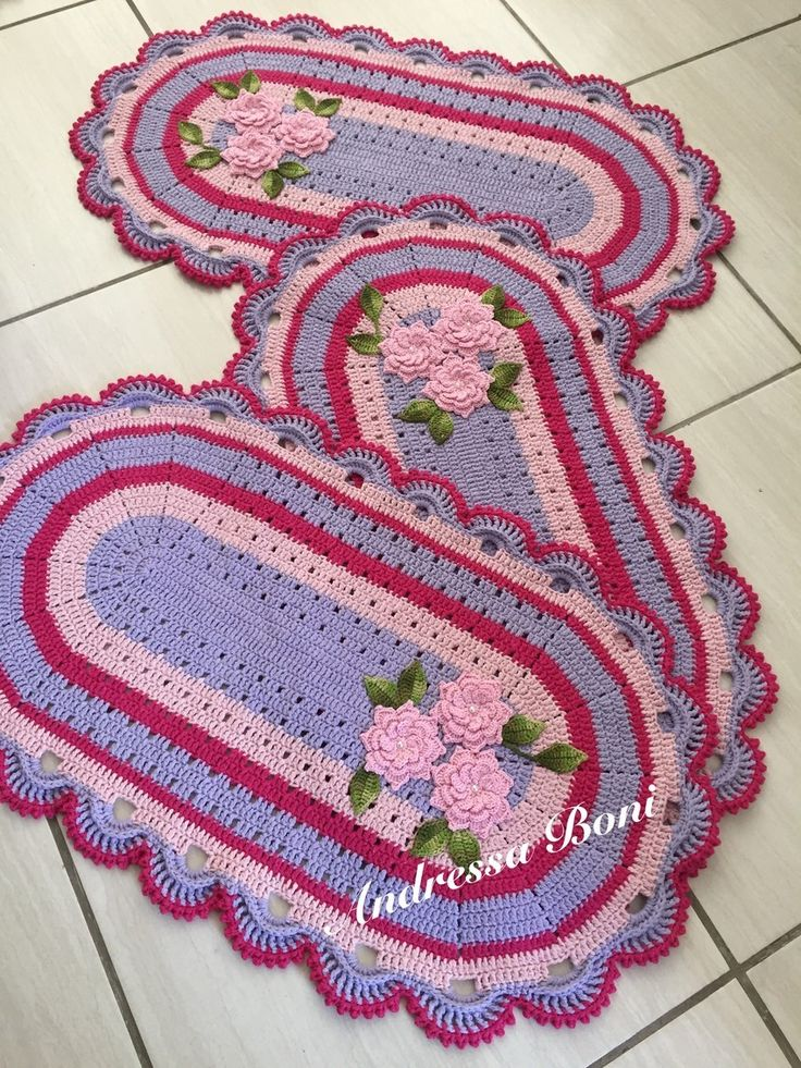 Tapetes,crochê,casa,decoração