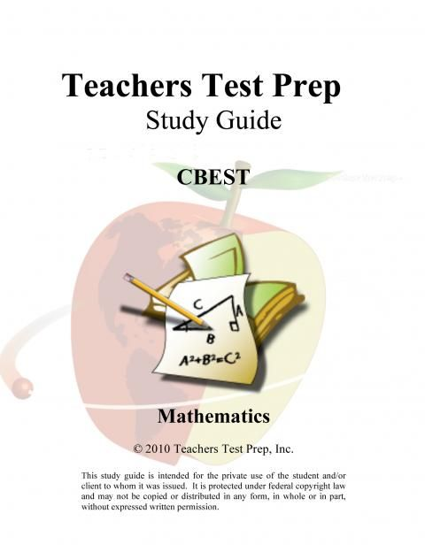 CSET Math Test Prep Team