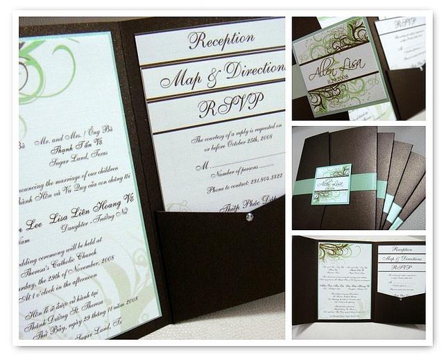 Vietnamese Wedding Invitations | Flickr   Photo Sharing!