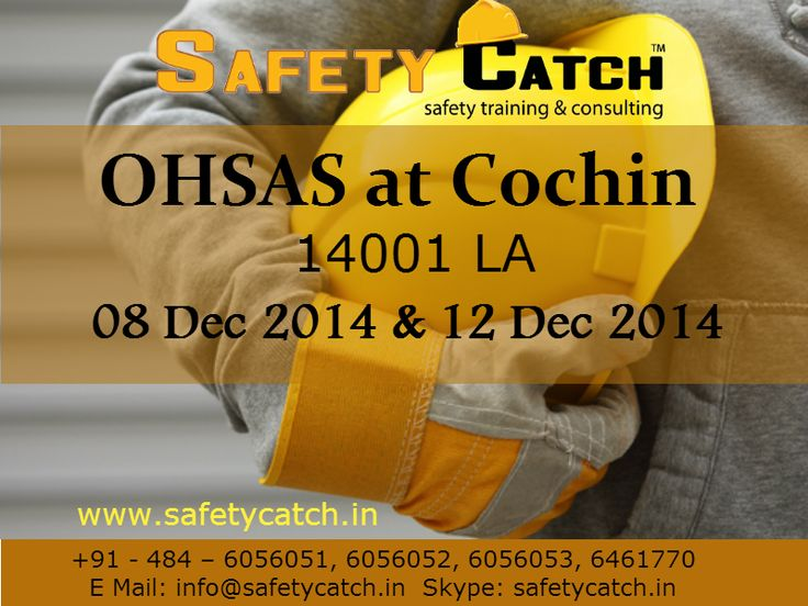 Hurry Register Now! Only 5 days left!   #safetytraining #OHSAS #ohsastraining #ohsastraininginIndia #safetytraininginIndia #safetycatch #OHSAStrainingatcochin