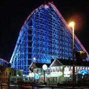 Blackpool Pleasure Beach in Blackpool