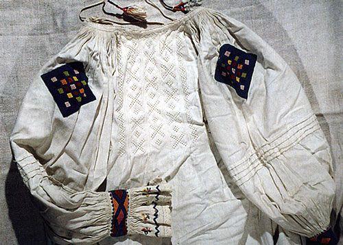 Национальные рубашки Закарпатья, часть III