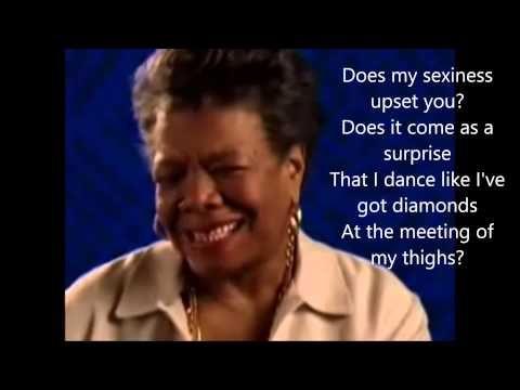 Still I Rise- BY Maya Angelou with lyrics - YouTube