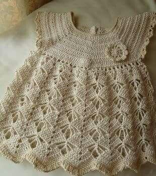 Vestido crochet lindo y fácil