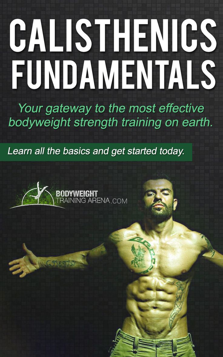 Gymnastics Rings and calisthenics have proven over hundreds of years that they can be used as a stand-alone method to gain unparalleled amounts of strength