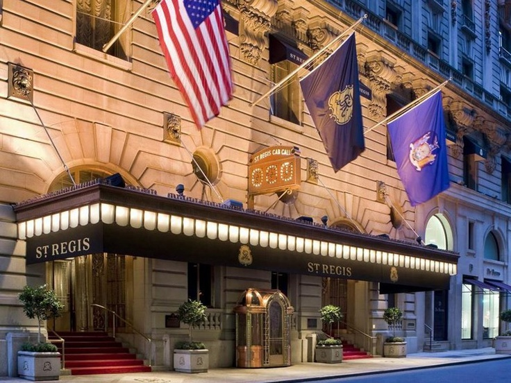 The St. Regis (East 55th Street) $823 a night!  what a steal.