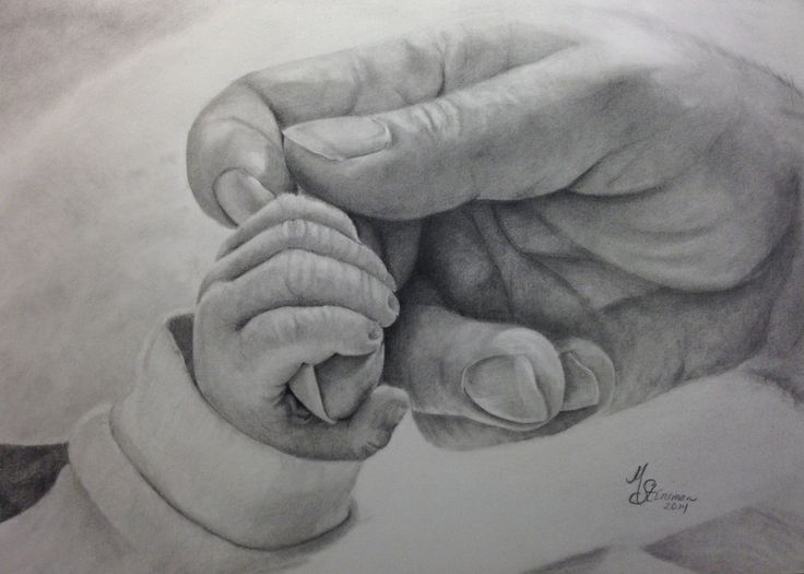 Pencil Drawings Of Hands Holding Showing Part Of Body