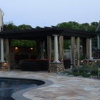 Contempory Design meet Natural Beauty - mediterranean - patio - new york - Harmony Design Group
