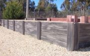 View Products - Concrete Sleeper Retaining Walls - Heritage Concrete Sleepers