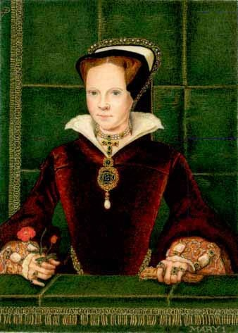 "Queen Mary I of England - otherwise known as ""Bloody Mary"" This article just killed all those rhymes from when I was a kid."