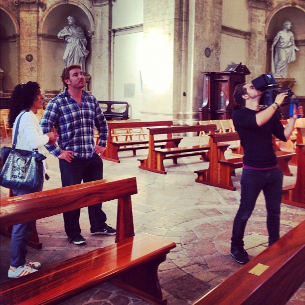 October 3, Todi with Stephen of @Walks of Italy and Alessandra of @Discovering Umbria