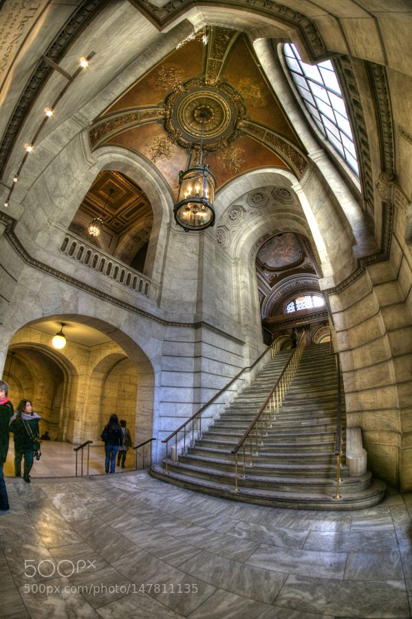 New York Public Library by mhillringhouse