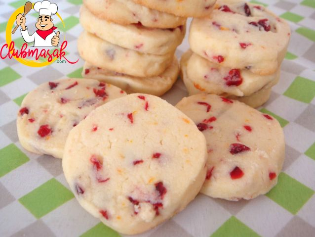 Resep Fruity Square Cookies, Resep Jamuan, Club Masak