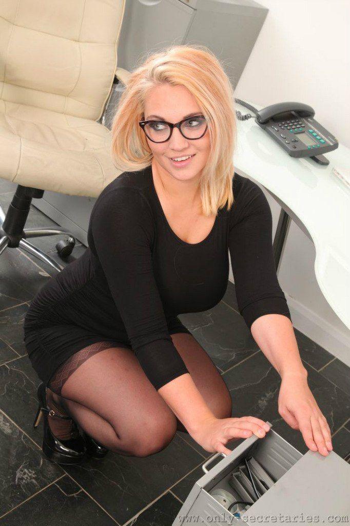 Nerdy secretary