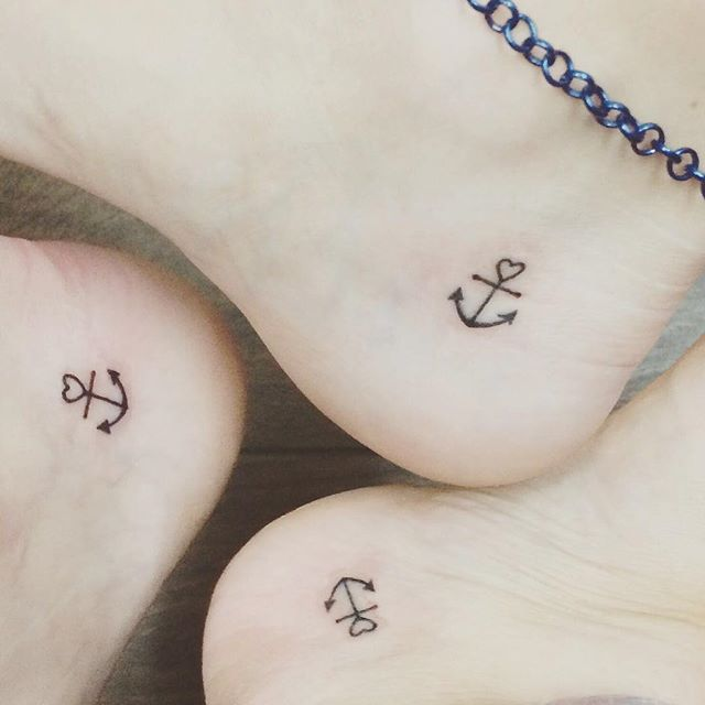 Pin for Later: 16 Travel Tattoos For Best Friends With Wanderlust Anchors